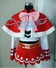Anime One Piece Princess Mononoke Perona cosplay costume cloak+skirt+blet+shirt set