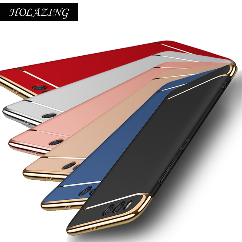 Full Body Protective Hard PC Bumper Cover for Xiaomi Mi A2 6X Mi6 Mi 6 Mi Note 3 MiA1 Mi5X Mi A1 5X Anti Finger Scub Case