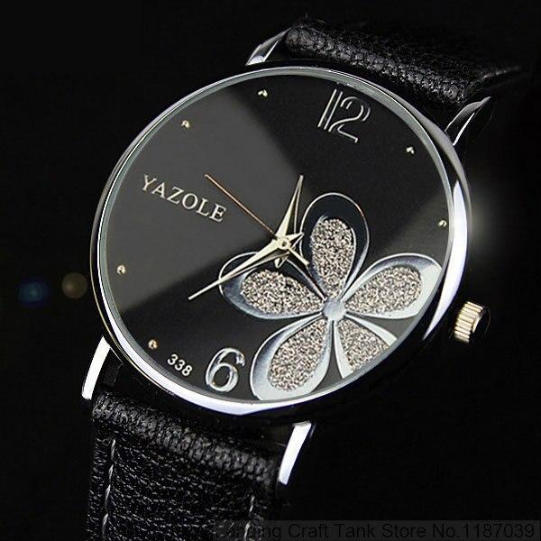 YAZOLE Hodinky Lucky Flower Quartz Watch 5