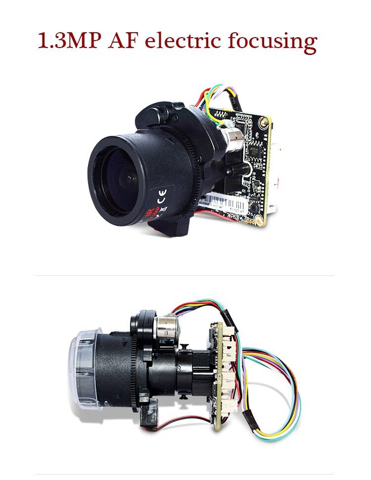 XM HD1.3MP 720 P/960 P X4 Zoom PTZ 2.8-12mm mise au point électrique autofocus module ipc AR0130 + Hi3518C logiciel gratuit CMS livraison gratuite