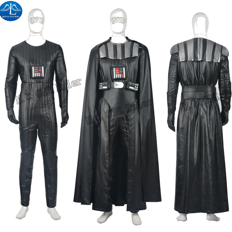 hot high quality star wars darth vader cosplay costume customized full suit hallowmas any size. Black Bedroom Furniture Sets. Home Design Ideas