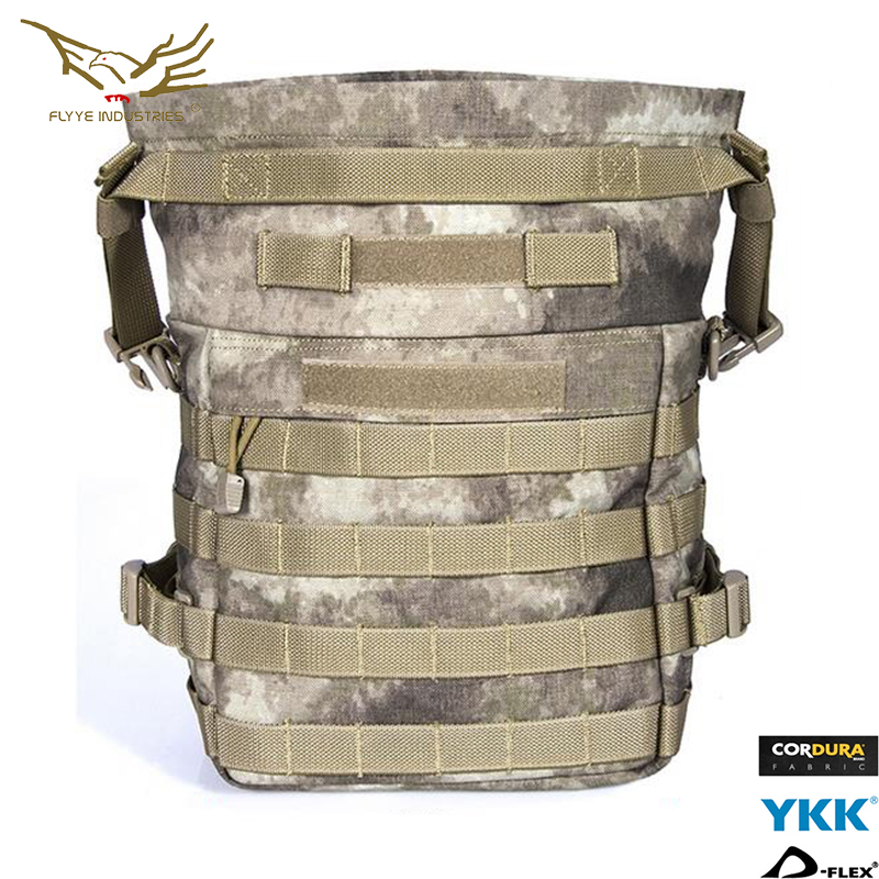 Flyye Multi functional Accessory Shoulder Bag Sundries Tactical Nylon Drop Bag Molle Airsoft Military Tactical Accesssories AU