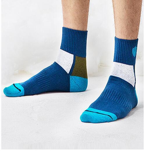 2017 popular colorful happy socks algodón conveniente vestido ocasional buenos calcetines houndstooth pañuelos divertido hombres sox media