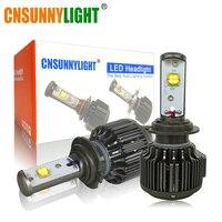 Plug Play LED CAR HEADLIGHT 30W 3000LM BULB H4 Hi Lo H7 H8 H9 H11 HB3
