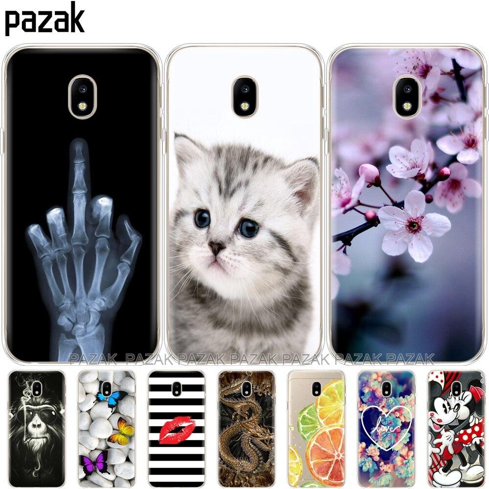 Galleria fotografica Silicone phone Case For Samsung Galaxy J5 2017 J530F J5 Pro 2017 Case Soft TPU Silicone shell Cover for Samsung J5 2017 J530 new