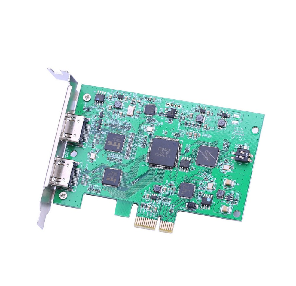 Image 3 - PCI Express HD Video capture Card PCIE 1080P 60FPS HDMI Capture Card vmix wirecast obs game/meeting live broadcast streaming-in Video & TV Tuner Cards from Computer & Office