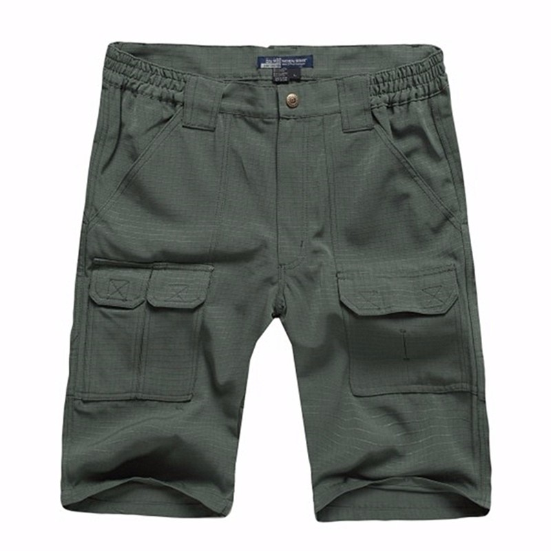 60e6f092c4f Aliexpress.com   Buy Tactical Mens Cargo Shorts Casual Cotton Multi Pocket  Summer Man Short Pants Plus Size Bermuda Brand European American Style from  ...