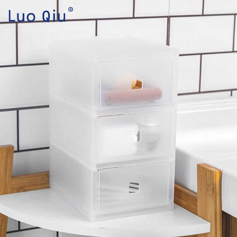 โปร่งใส multi - layer เดสก์ท็อปกล่องนักเรียนชุดเก็บอุปกรณ์สำนักงานประเภทลิ้นชักเก็บกล่อง