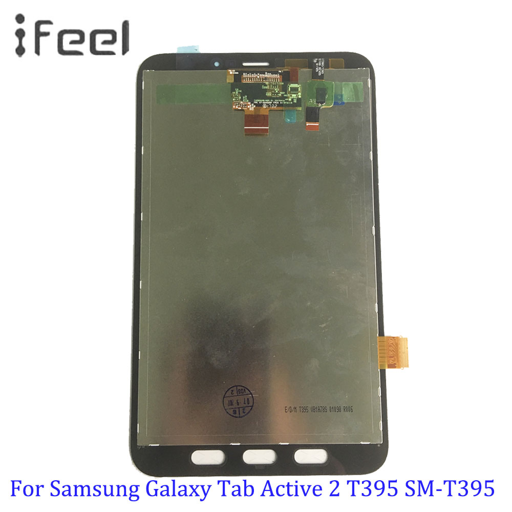 For Samsung Galaxy Tab Active 2 T395 SM-T395 Full Touch Screen Digitizer LCD Display Panel Assembly Replacement PartsFor Samsung Galaxy Tab Active 2 T395 SM-T395 Full Touch Screen Digitizer LCD Display Panel Assembly Replacement Parts