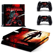 New DEADPOOL Vinyl Decal Skin Sticker Cover for Sony PS4 PlayStation 4 and 2 controller skins
