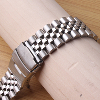New Metal Watchband 20mm 22mm 24mm Stainless Steel Watches Bands Straps Bracelet For Man Wristwatch Clock Hours solid links new