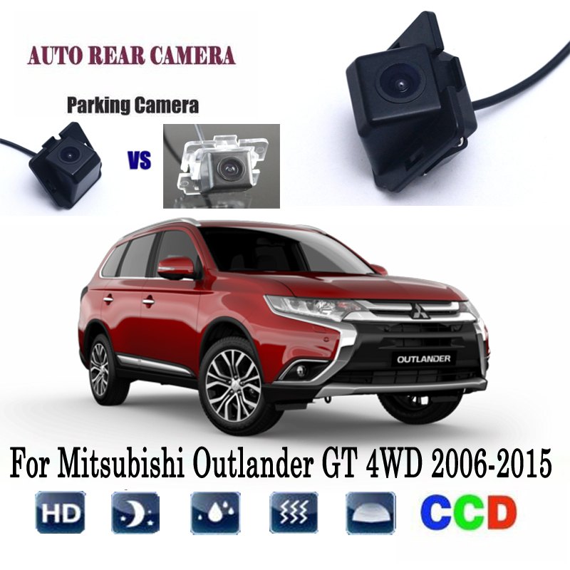 Kamera cofania dla Mitsubishi Outlander GT 4WD 2006-2015/CCD/Night Vision/tyłu otwór/do tyłu kamera/widok z tyłu kamera cofania