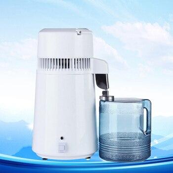 4 Litre Home Pure Water Distiller Water Filter Machine Distilled Distillation Purifier Filter Stainless Steel with Jug Household