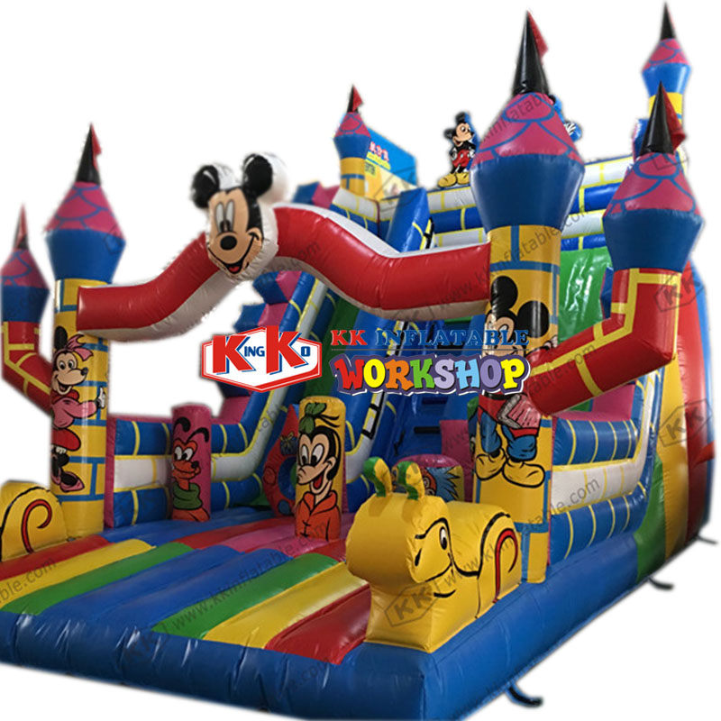 products found for trampoline and slide combo