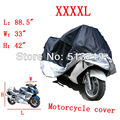 Big Size Universal Car Motorcycle Cover Waterproof Dustproof Scooter Cover UV Snow Resistant PEVA Heavy Racing Bike Car Cover