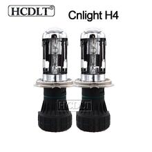HCDLT Оригинал Cnlight H4 Биксенон HID лампы 35 W 55 W ксенона H4-3 Hi/Lo луч автомобилей заменяемая лампочка для фар лампы 4300 K 5000 K 6000 K