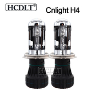 HCDLT Original Cnlight H4 Bixenon HID Bulb 35W 55W Xenon H4 3 Hi/Lo Beam Car Headlight Replacement Bulb Lamp 4300K 5000K 6000K