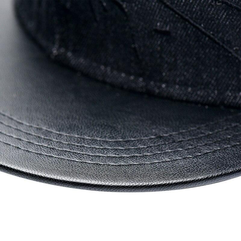 7ee92ed2cd627 Caliente 2018 nuevo moda vaquera cuero Batman gorra de béisbol sombreros  para hombres casuales de las mujeres hueso Hip Hop Snapback sombrero de sol  MZ1 en ...