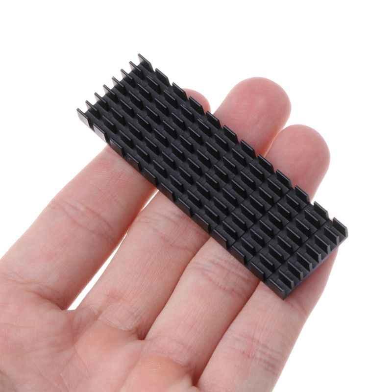 M.2 NVMe NGFF 2280 Solid State Hard Disk Disipasi Panas SSD Heat Sink Cooler Radiator
