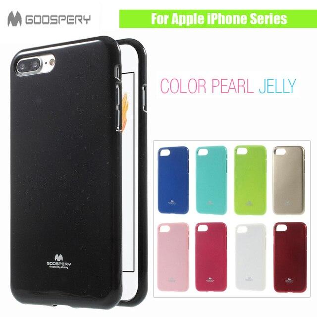 88c55c6c8f0 Original MERCURY GOOSPERY para Apple iPhone 7 7 más 6 6 S 5 5S Se 4 ...
