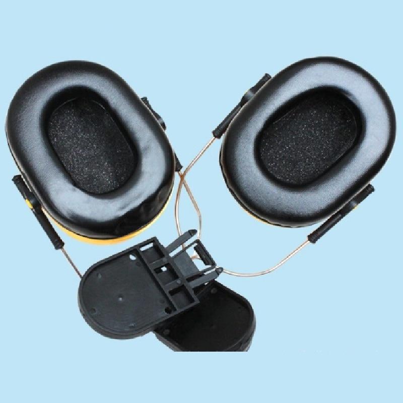 Купить с кэшбэком Personalized Foam Hearing Ear Protector Defende Plugs Military Earmuffs Peltor De Ouvido 25dB for Noise Reduction Use On Helmets