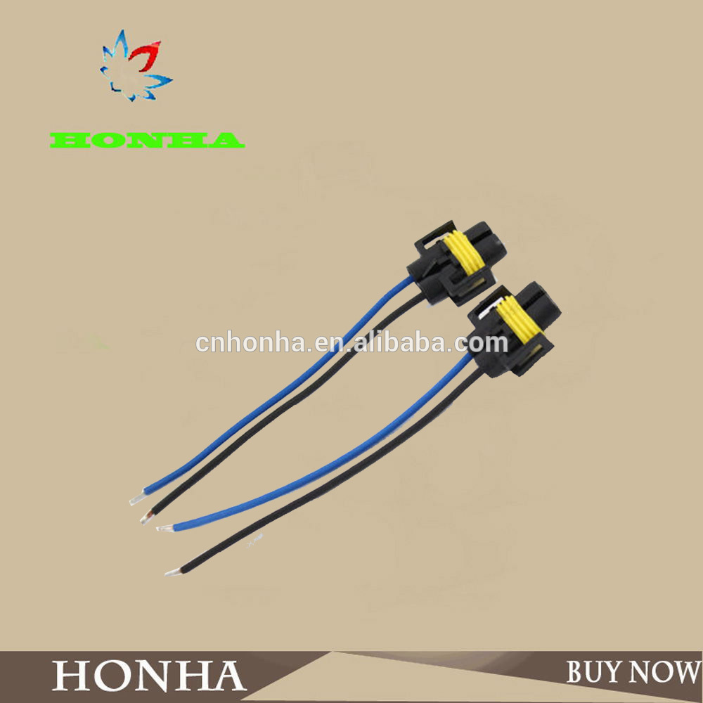 H11 / H8 / H9 2 pin sealed fuel spray nozzle waterproof connector ...