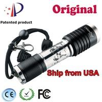 Uniqurfire 5 Modes F17 U2 1200LM Black Zoomable Lens 1x 18650 Battery Aluminum Rechargeable Led Flash Torch Waterproof