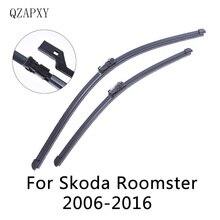 Спереди Дворники для Skoda Roomster из 2006 2007 2008 2009 2010 2011 2012 2013 до стеклоочиститель аксессуаров для автомобилей