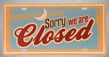 1 pc Come in we are closed Shop store plaques Tin Plates Signs wall man cave Decoration Metal Art Vintage Poster 1 pc tires shop premium car mechanic shop store garage usa tin plates signs wall man cave decoration metal art vintage poster
