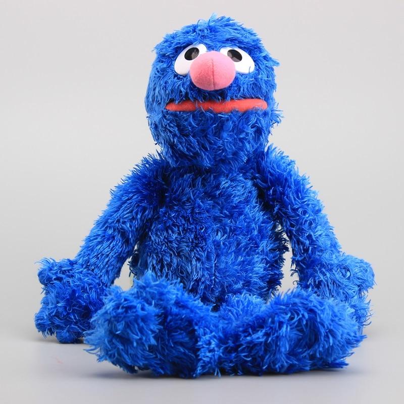 7 Styles Hot Sesame Street Elmo Cookie Grover Plush Toys Big Bird