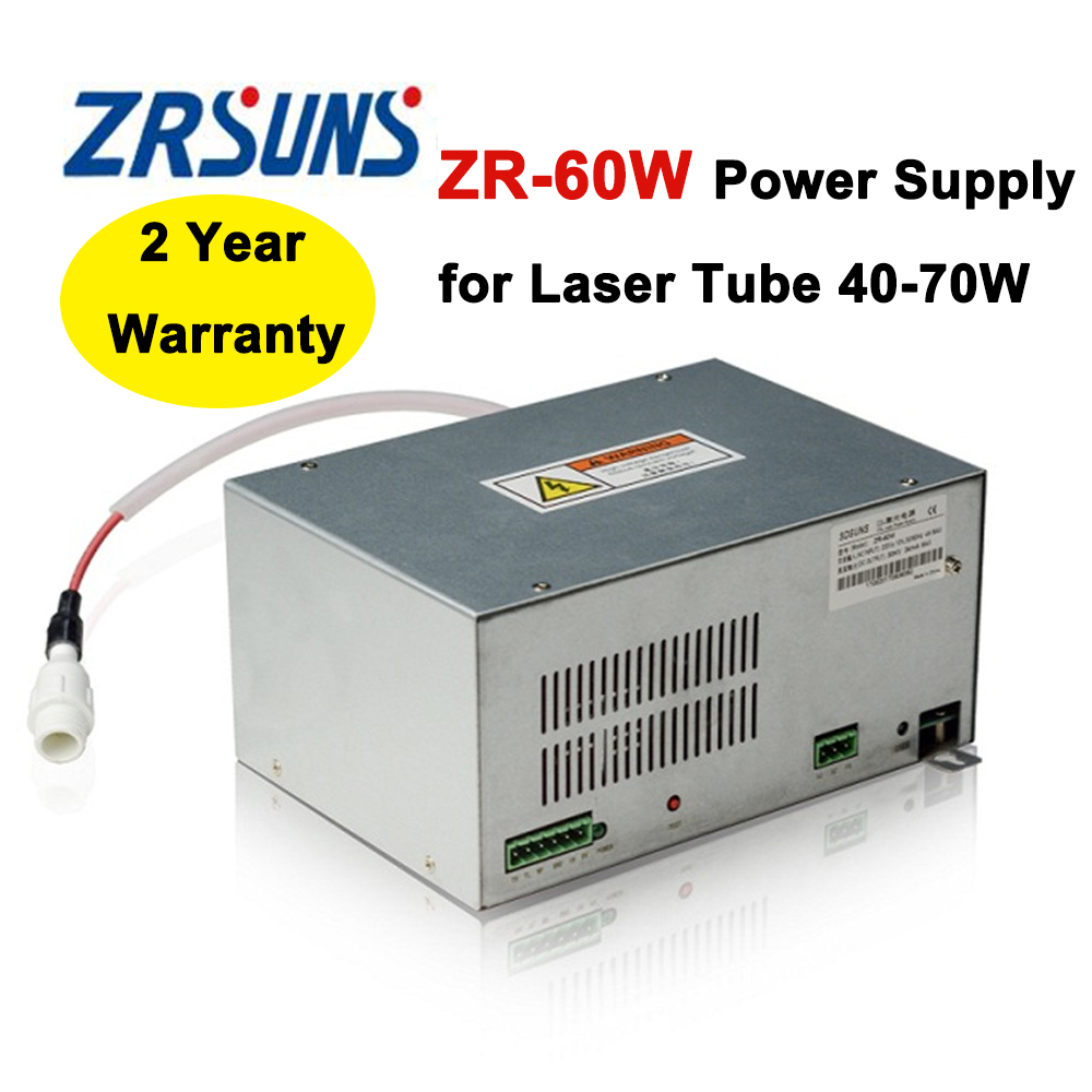Laser Power Supply 60w for 40W 50W 60W 70W Co2 Glass Laser Tube цена