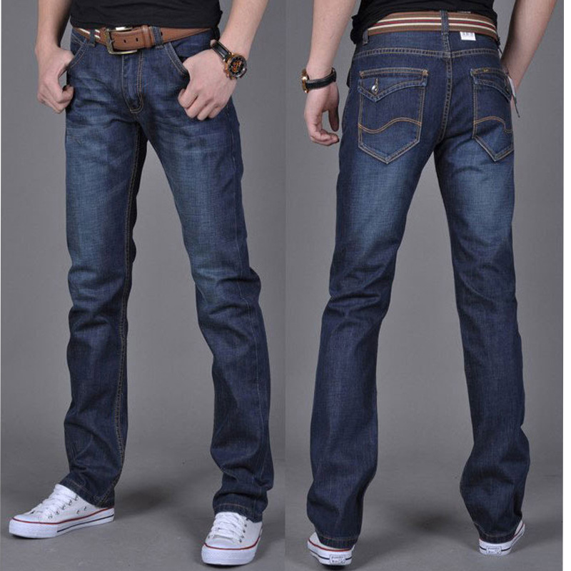 New Arrival Famous Brand Jeans For Men Cheap Jeans China Straigh Regular Fit Denim Jeans Pants Classic Blue Colour Size 28 To 38 1 pcs jeans for men cheap china straight regular fit denim jeans pants classic blue color brand clothes size 28 to 38 bn446
