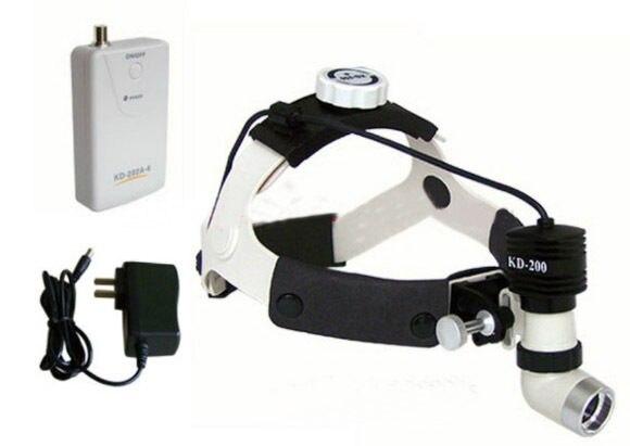 KD-202A-6 5 W nave rápida LED faro quirúrgico de alta potencia faro Médico Dental lámpara de cabeza