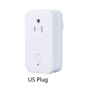 Image 3 - ZigBee 3.0 Chuyển Đổi Không Dây Ổ Cắm SamrtThings ỨNG DỤNG Điều Khiển từ xa EU AU MỸ ANH Ổ Cắm cho Philips Huế Amazon Echo Plus alexa
