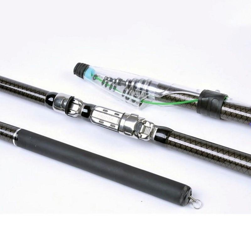2016 New Fishing Rod High Quality Carbon Carp Rod Telescopic Fishing Rod Long Shot 2.7M 3.6M 4.5M 5.4M 6.3M Rock Fishing Pole