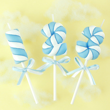 High Quality Flameless Scented Candle Children Birthday Candle Cake Decorating Baby Candle Marshmallow DIY Candles Cake Decor