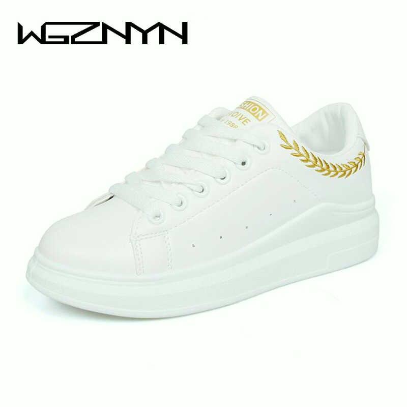 152261e61e62 WGZNYN новая обувь женские Демисезонный натуральная кожа ...