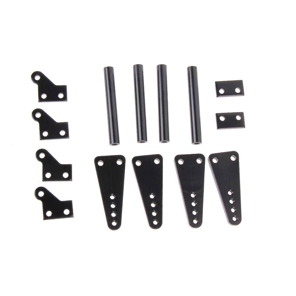 Black RC Car Defender Frame Set for 1:10 Axial SCX10 RC4WD D90 JK Model держатель defender car holder 221