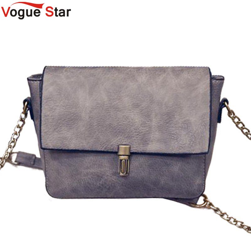 Vogue Star 2017 new Designer chain Women Messenger Bags PU Leather Small Crossbo