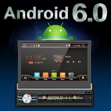 1 Din Android 6.0 Car DVD GPS Navigation player Radio Music Bluetooth Rear View Camera SD USB For Auto radio 1din gps