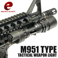 Element M951 Tactical LED Flashlight Scout Light Airsoft Hunting Weapon Light With Remote Pressure Switch EX108