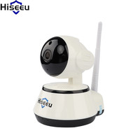 Hiseeu Wifi Camera 720P Home Security IP Camera Mini Night Vision CMOS Baby Monitor Infrared Camaras