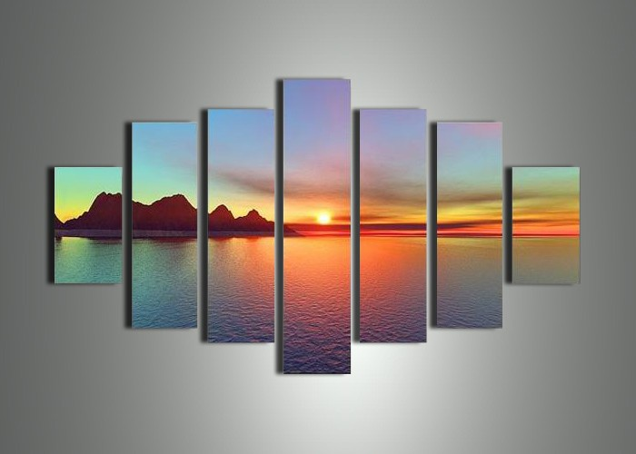 Wall Canvas Art compare prices on 7 piece canvas art- online shopping/buy low