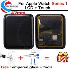 Dùng cho các Dòng Đồng Hồ Apple 1 MÀN HÌNH Hiển Thị LCD Bộ Số Hóa Cảm Ứng 38/42mm A1802 A1803 A1553 A1554 Cho đồng hồ Apple S1 MÀN HÌNH LCD