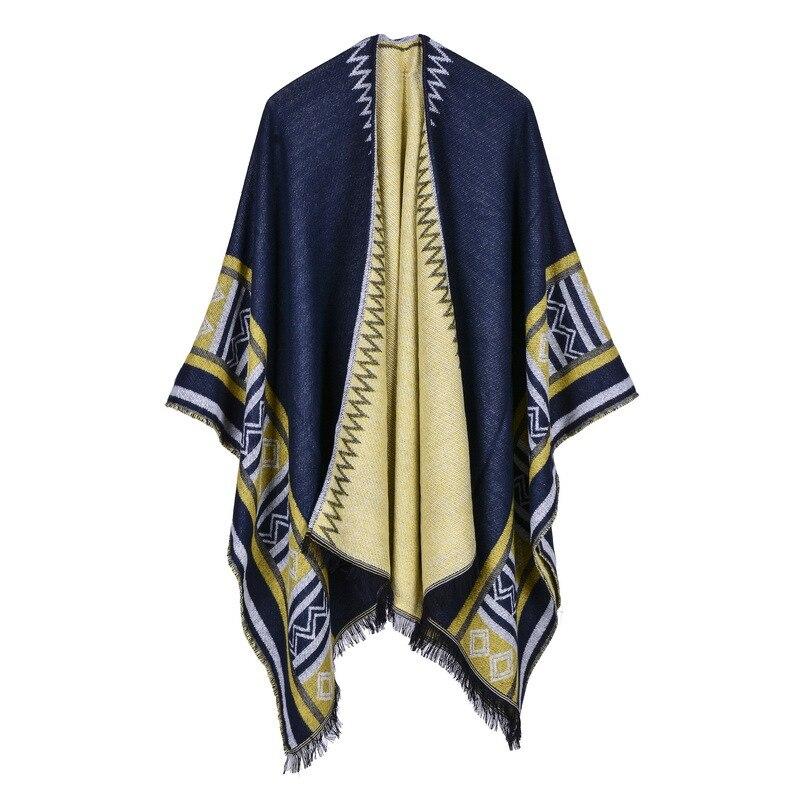 Winter Autumn Women Scarves Fashion Women Scarf Long Wraps Shawls Thick Warm Cotton Cashmere Wool Pashmina Printed Womens Scarf