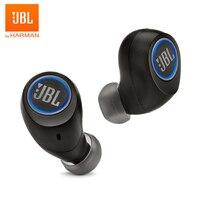 JBL Free Ture Wireless Bluetooth Earphones Original Stereo Sports TWS Headphone Bass Headset Splashproof Handsfree Call with Mic