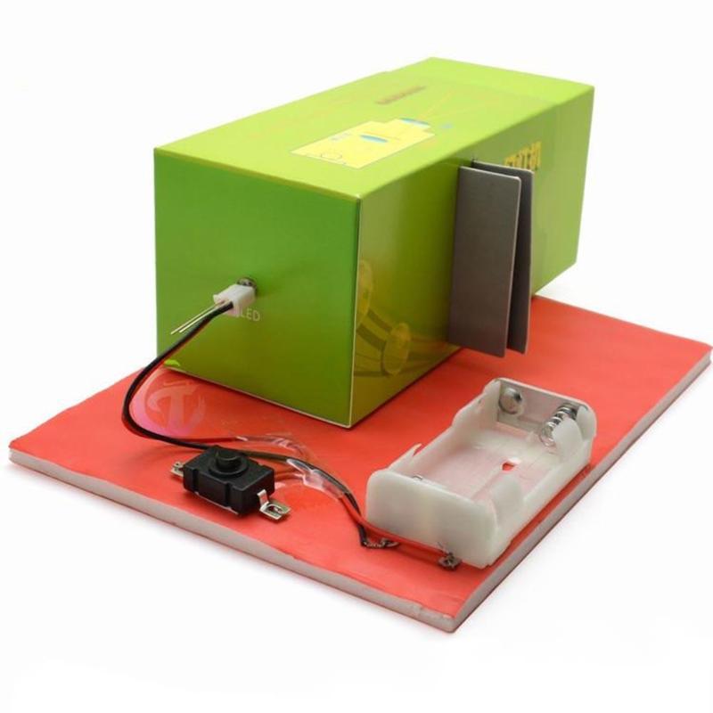 Bricolage projecteur à glissière modèle lampe matériaux faits à la main expérience scientifique modèle laboratoire approvisionnement enfants éducation jouet