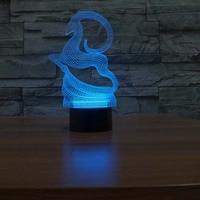 Running deer  Night Light Designs Kids Lamp Romantic Night Lighting 7 Color Changing Led Lights For Home Decorative
