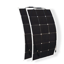 180w solar system kit 90w*2 flexible solar panel mono high efficiency cell photovoltaic module for 12v battery RV yacht