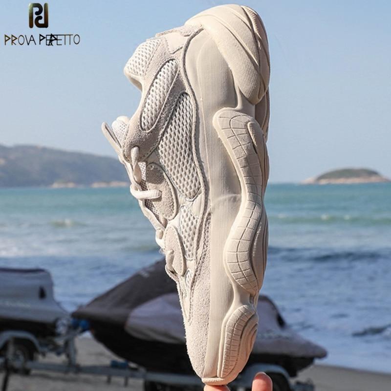 Prova Perfetto di Nuovo Modo di Marca Casual Scarpe Donna in Mesh Traspirante Appartamenti di Pattini Della Piattaforma Femminile Scarpe Da Tennis Lacci delle scarpe Amanti Scarpe-in Scarpe vulcanizzate da donna da Scarpe su  Gruppo 1